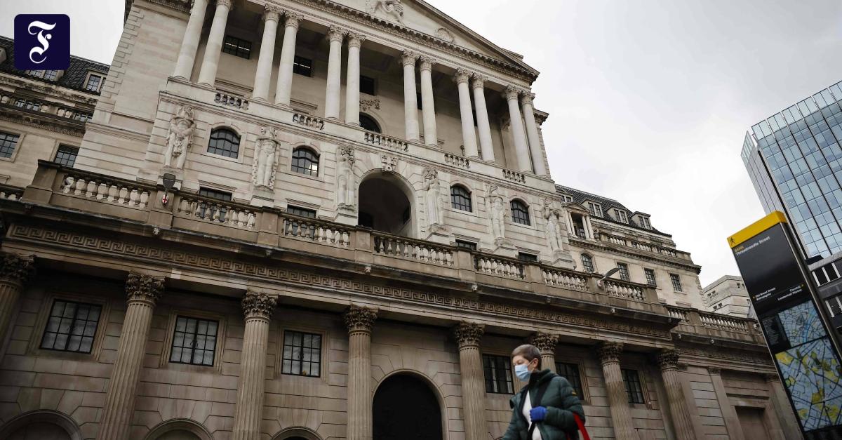 Was die britische Notenbank zu negativen Leitzinsen sagt - FAZ - Frankfurter Allgemeine Zeitung