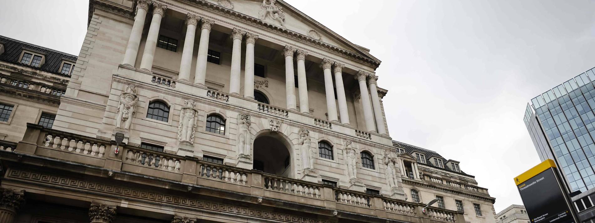 Was die britische Notenbank zu negativen Leitzinsen sagt