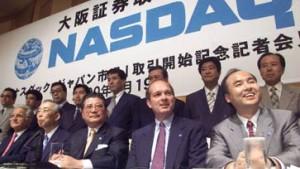 Nasdaq hat sich in Japan verspekuliert