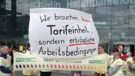 Bundestag stimmt über Tarifeinheitsgesetz ab