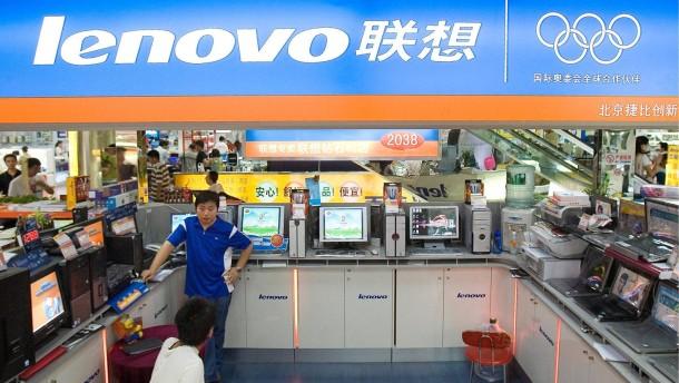 Smartphone-Vorstoß zahlt sich für Lenovo aus