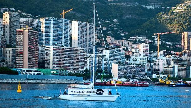 Stiller Protest in Monte Carlo
