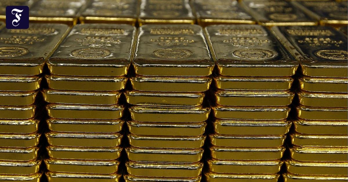 Begehrtes Edelmetall: Goldpreis steigt auf höchsten Stand seit siebeneinhalb Jahren