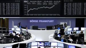 Schwacher Euro und starke Bilanzen schieben Börsen an