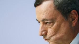 Draghi weist deutsche Kritik an EZB zurück