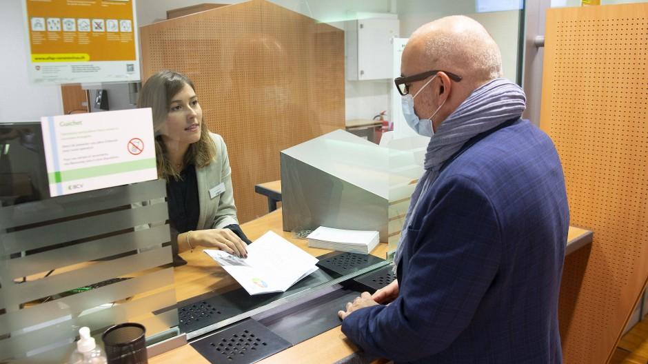 Kundenberatung in der Bank (Symbolbild)