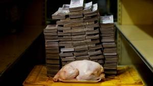 Venezuela streicht fünf Nullen
