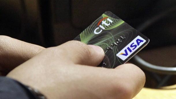 Visa macht bessere Geschäfte als erwartet