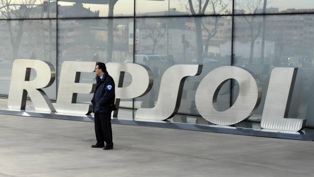 Repsol 2013 mit Gewinnrückgang