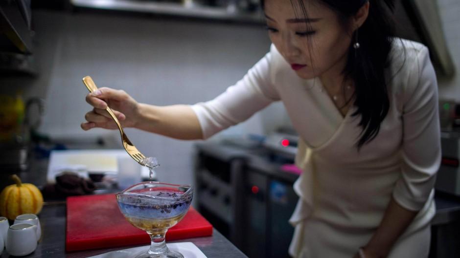 In Schanghai gibt es viele besonderes Restaurants wie hier das NestCha, doch nur wenige besitzen einen Michelin-Stern.