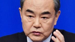 Peking warnt Trump