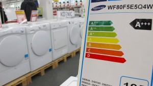 EU passt Energie-Labels für Elektrogeräte an