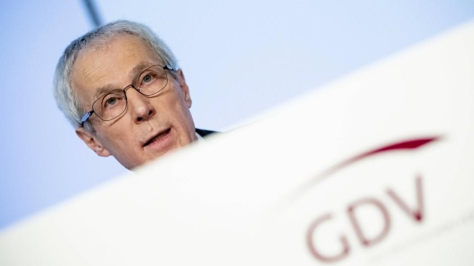 Wolfgang Weiler, Präsident des Versicherungsverbands GDV