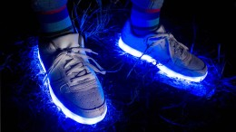 Wenn Blinkschuhe zu Elektroschrott werden