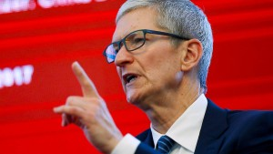 Apple muss in China kämpfen