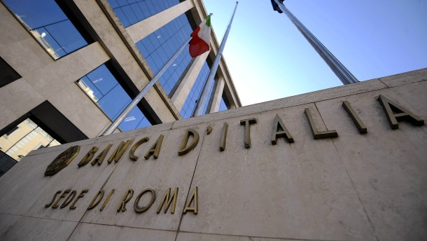 Italiens Renditen auf Rekordtief
