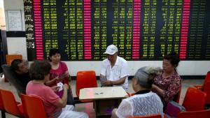 Chinesische Aktien auf Erholungskurs
