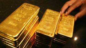 Gold hat deutlich an Glanz verloren