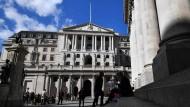 Bank of England in London: Kommt es bald zu einer Zinserhöhung?