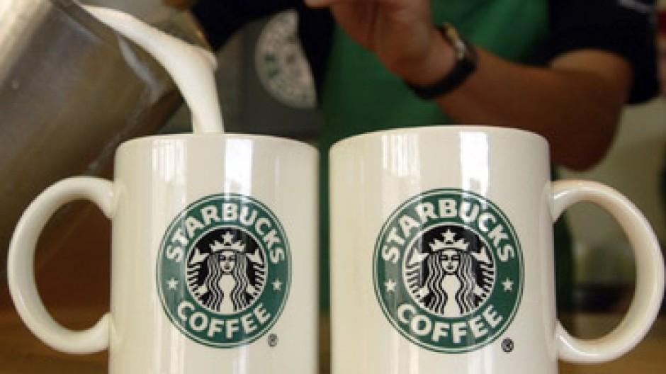 Ketten wie Starbucks verdienen gut mit Kaffee