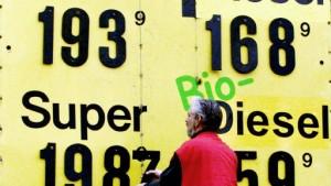 Der fallende Ölpreis zeigt Wirkung