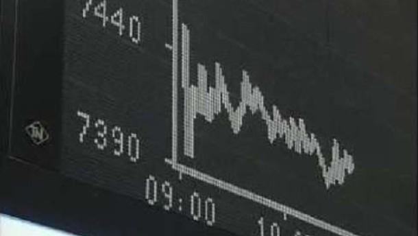 Enttäuschende Konjunkturdaten drücken den Dax