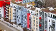 """Lebendiger Neubau: Das """"Quartier Central"""" zieht junge Familien an."""