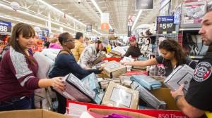 """Amerika im Kaufrausch. Am """"Black Friday"""" findet die große Rabatt-Schlacht statt."""