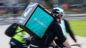 Deliveroo-Kurs stürzt um 30 Prozent ab