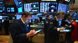 Virus-Krise lastet auf den Börsen