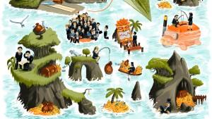 Was ist faul mit den Inseln?