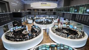 Aktienmärkte weiter unter Druck