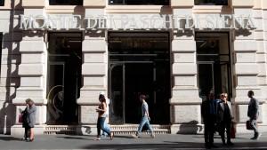 Skandal-Bank Monte Paschi erwartet Staatshilfe in Kürze