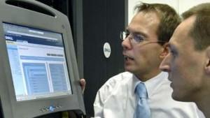 Aktie von Dell fällt hinter Hewlett-Packard zurück
