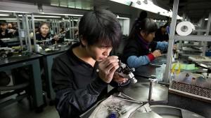 Es blitzt und funkelt in China