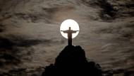 Rio de Janeiros Wahrzeichen: Die Christus-Statue auf dem Corcovado-Berg