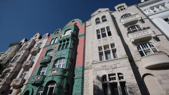 Wohnhäuser in der Kölner Südstadt