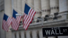 Anleger an der Wall Street in der Defensive