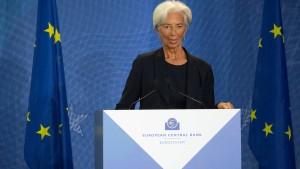 Währungsreserven der EZB hoch wie nie