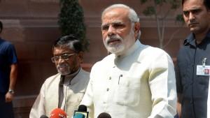 Indiens neuer Premier sagt Schwarzgeld den Kampf an