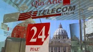 Telecom Italia wehrt sich gegen die Expansionspläne von Telefonica