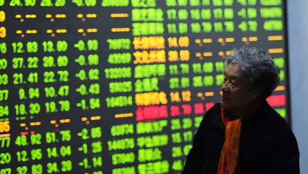 Aktienkurse in China fallen weiter