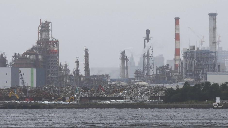 Dicke Luft in Kawasaki: Japans Volkswirtschaft ist stark industrialisiert.