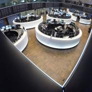 Hier wird gehandelt: das Parkett der Börse Frankfurt
