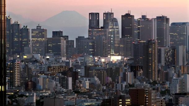 Prinzip Hoffnung an Japans Börse