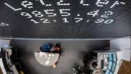 Frankfurter Börse aus der Vogelperspektive: Wo bleiben die Höchststände?