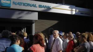 Die Rettung der griechischen Banken wird teuer