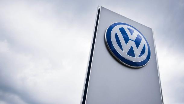 VW schickt Kurse in den Keller