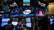 Kaufen, kaufen, kaufen: An der amerikanischen Börse dauert die Hausse weiter an.