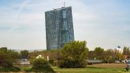 Europäische Zentralbank in Frankfurt am Main: Mitverursacher des schwachen Repo-Marktes.